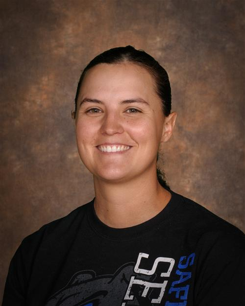 Pictured is Kayla Morris, SHS Athletic Trainer.